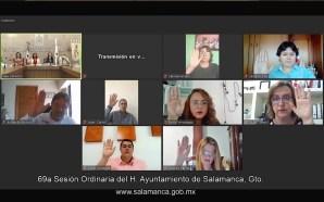 REGRESARÁN LAS SESIONES DE AYUNTAMIENTO DE MANERA PRESENCIAL.