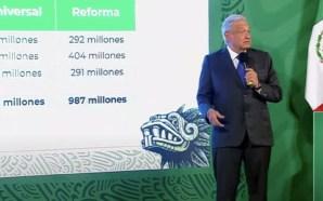 🔴#Nacional EXHIBE AMLO CONTRATOS MILLONARIOS DE REFORMA Y EL UNIVERSAL…