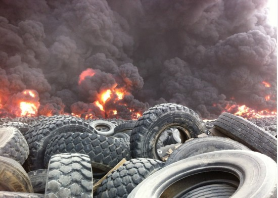 Open Burning of Tyres: Impacts on Public Health | Blogging