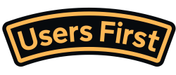 users first sticker
