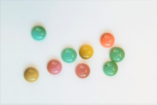 Discolored Pony Beads