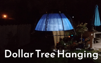 Dollar Tree Hanging Solar Light