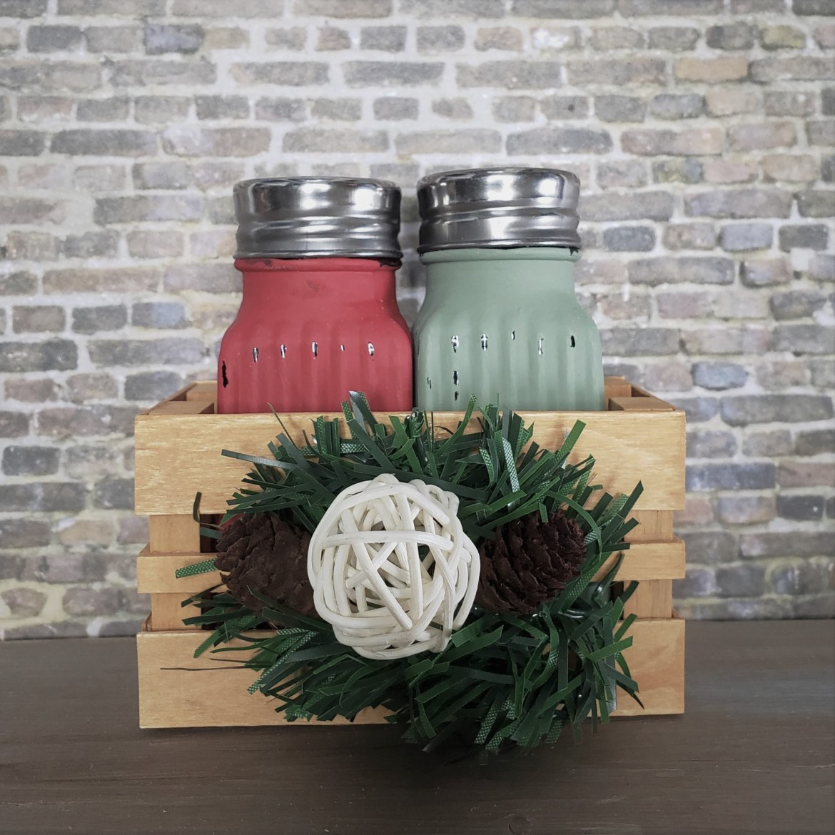 Country Christmas Salt & Pepper Shakers
