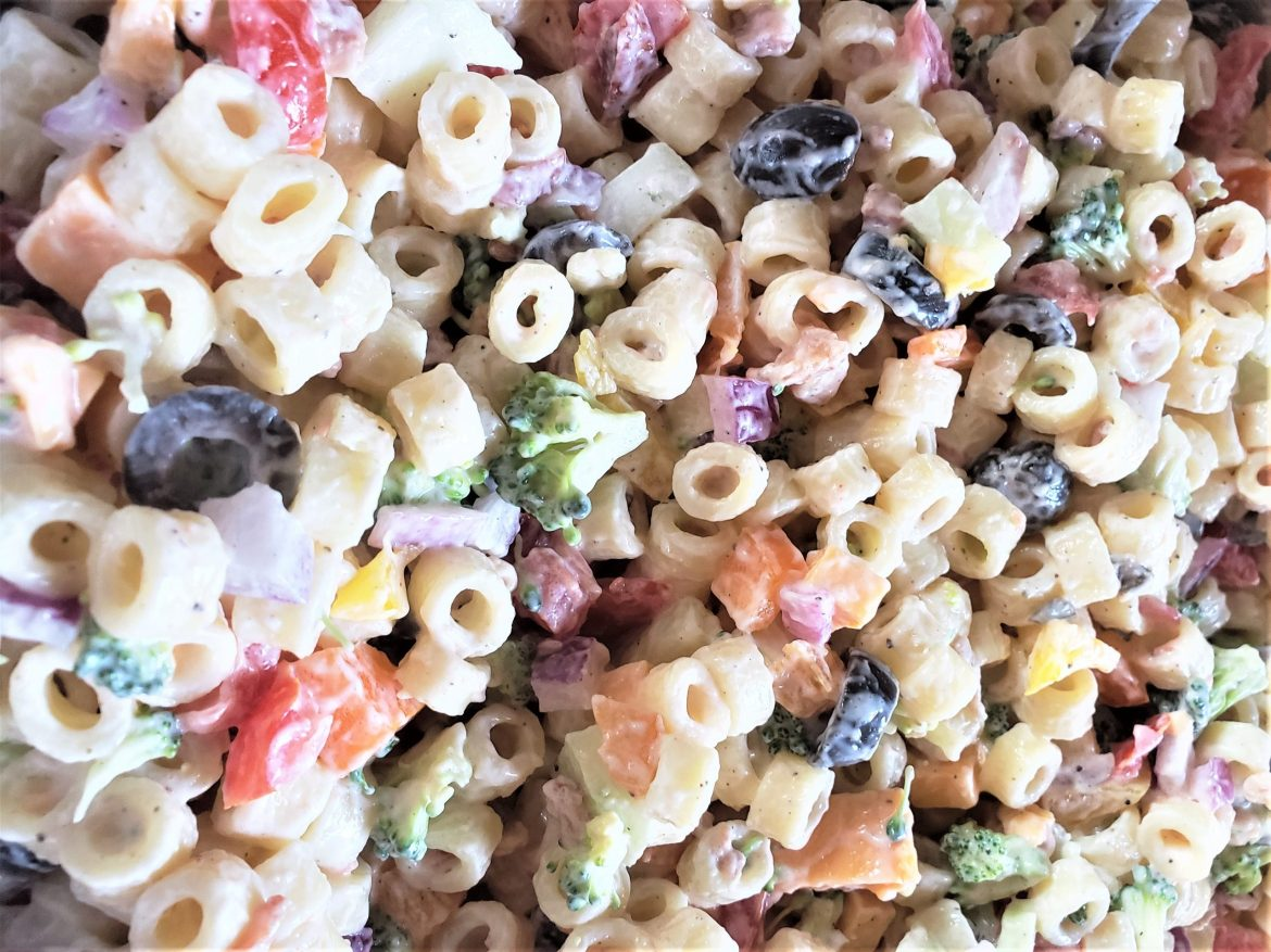 Incredible Rainbow Pasta Salad for Your Next Family Gathering