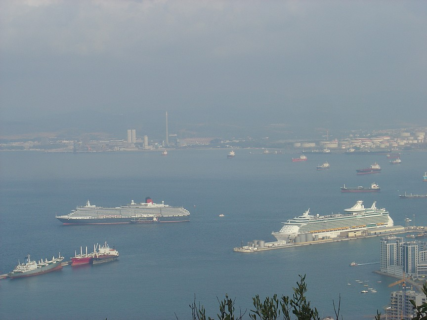 A busy harbour