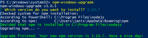 UpdateNodeJs_PSNpmWindowsUpgrade