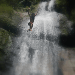Waterfall swim in the heart of the Borneo Jungle included in your tour/ package