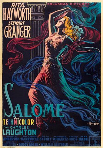 Salomé (1953) poster
