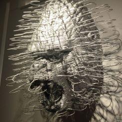 Gorilla Head . coat hangers . Mach David . Opera Gallery