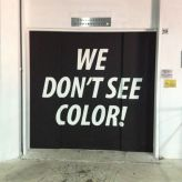 we don't see color!
