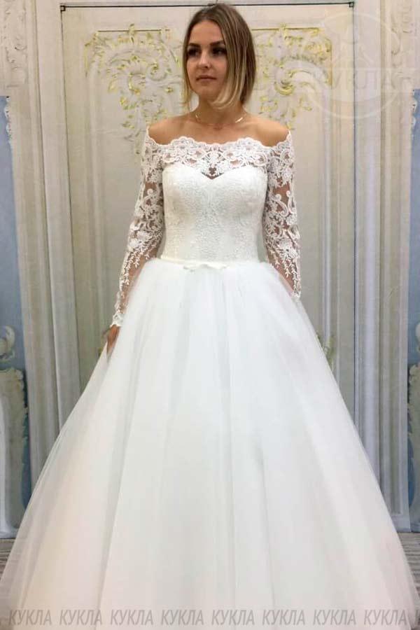 Купить Свадебное платье Den105 в Твери. Фото цены видео.