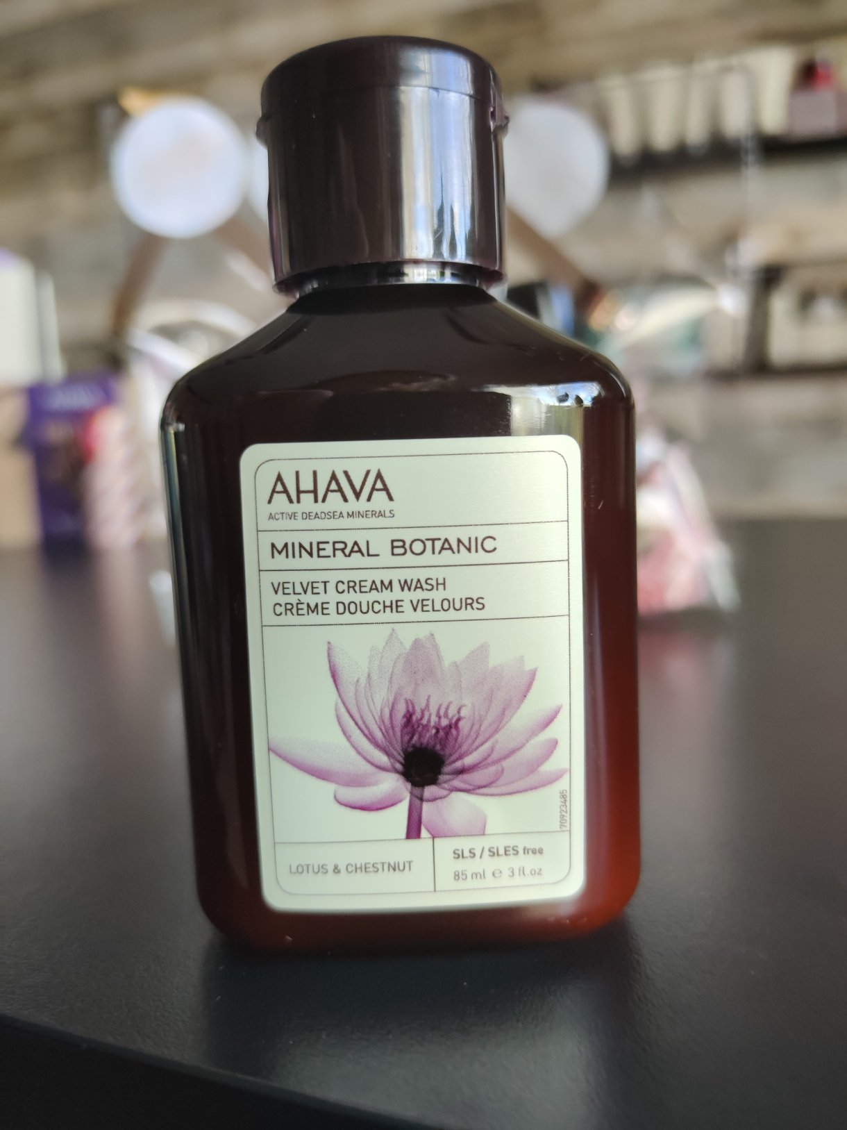 Mineral botanic cream wash