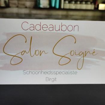 Cadeaubon luxe verzorging €125