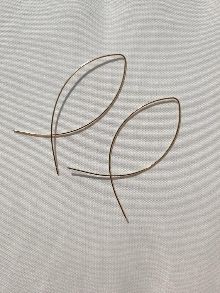 Oorbellen minimalistic gold