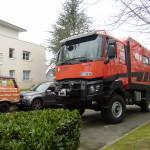 L'X-Truck Evasions à Nantes/Beaujoire, au bureau du SVA.