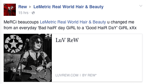lemetric, lemetric real world hair and beauty
