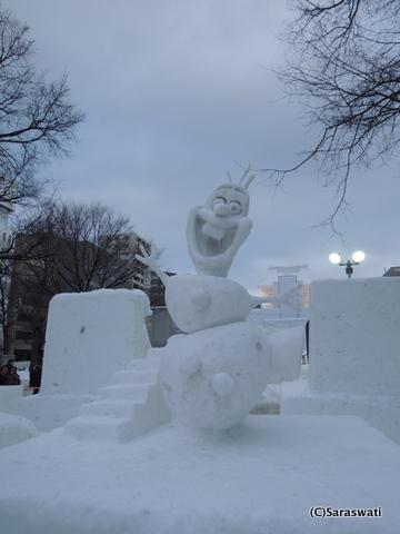 さっぽろ雪まつり2015