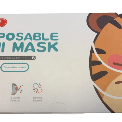 children face mask box
