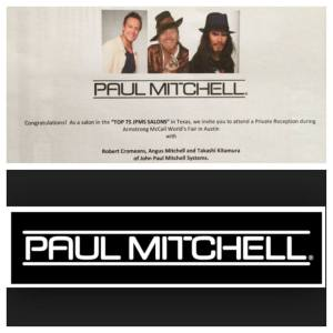 The invite The Salon and Spa at Pine Forest received to the 2014 Paul Mitchell Private Reception.