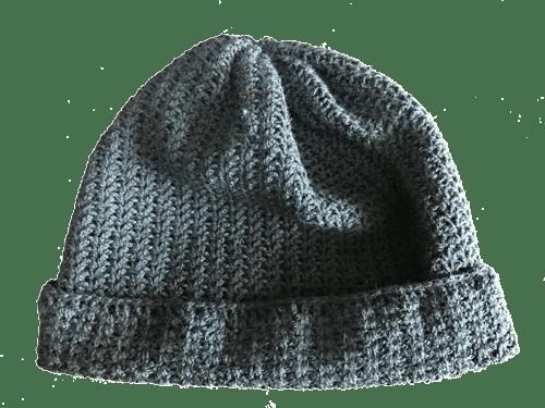 ニット帽 生徒Sさん作品 かぎ針編み