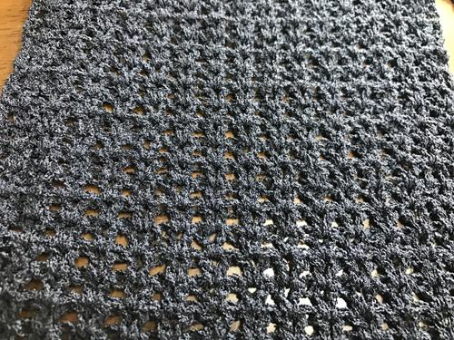 生徒作品 かぎ針編み 夏ストール2