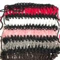 残り糸を利用した編地