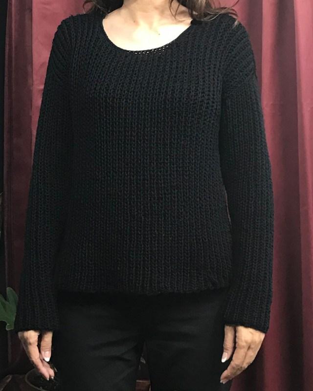 生徒さんが仕上げたセーターです。