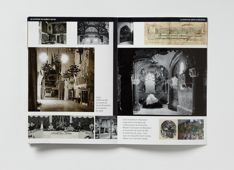castell santa florentina, Domènech i Montaner, Canet, Casa forta