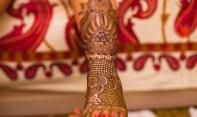 Mehendi-foot