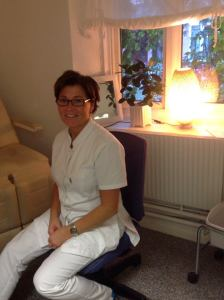 Fotvårdsterapeut Anette