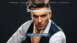 Barber and Stylist Web Site Design