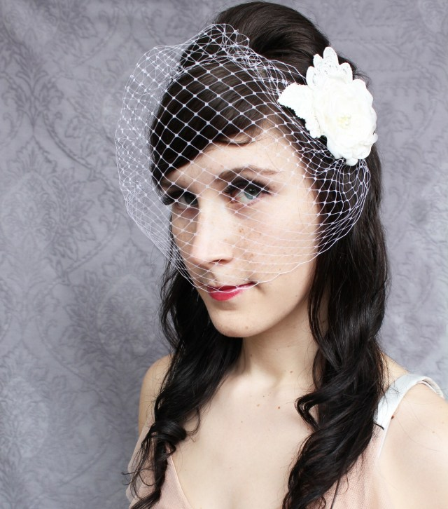 vintage inspired wedding hair accessories - the parlour by