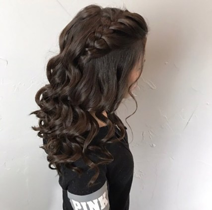 gallery prom hair by becky