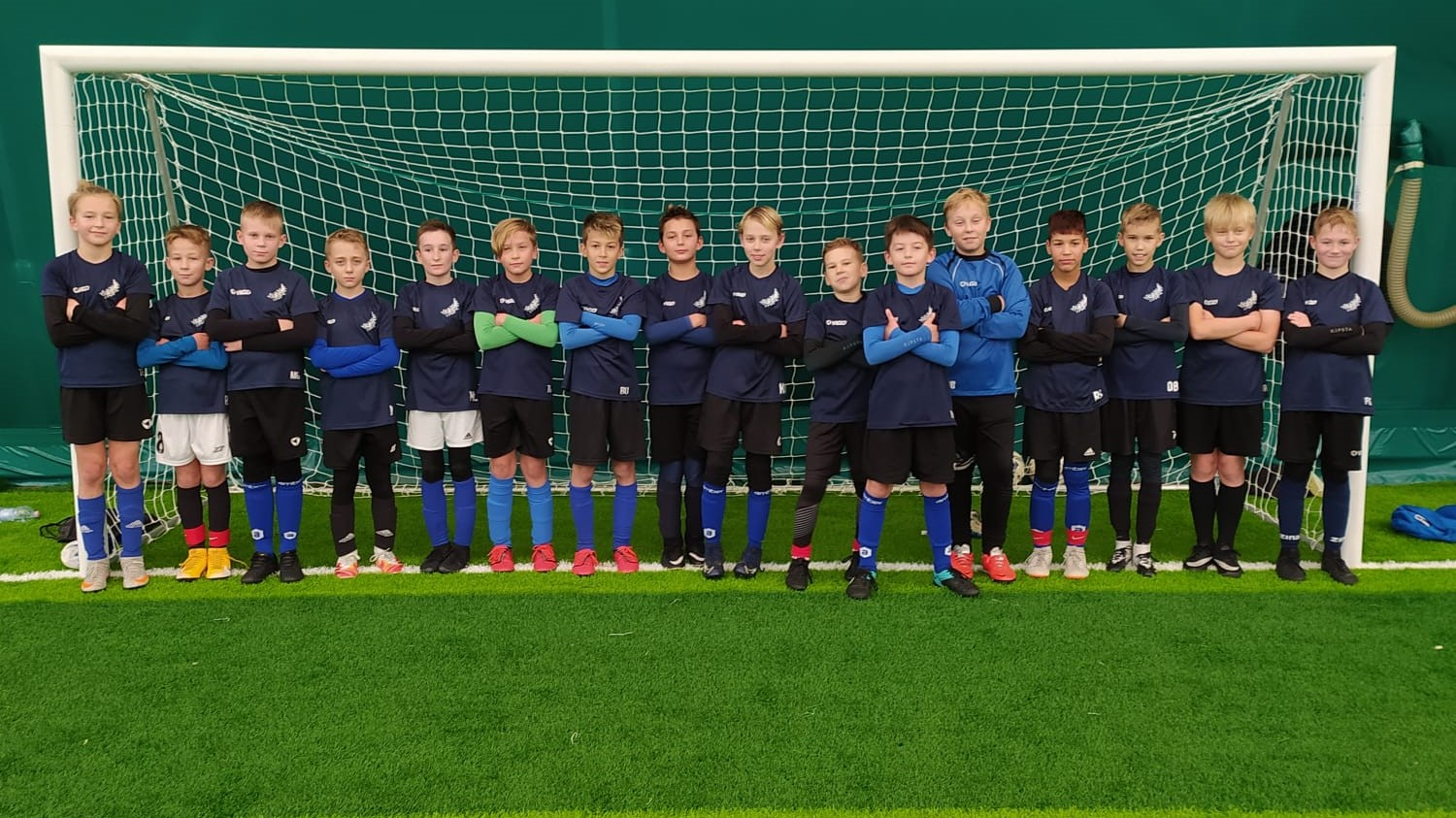 You are currently viewing U11: Sparing rocznika 2010 z Juniorem Police