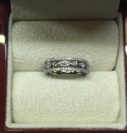 Wedding Ring Commission Traditional