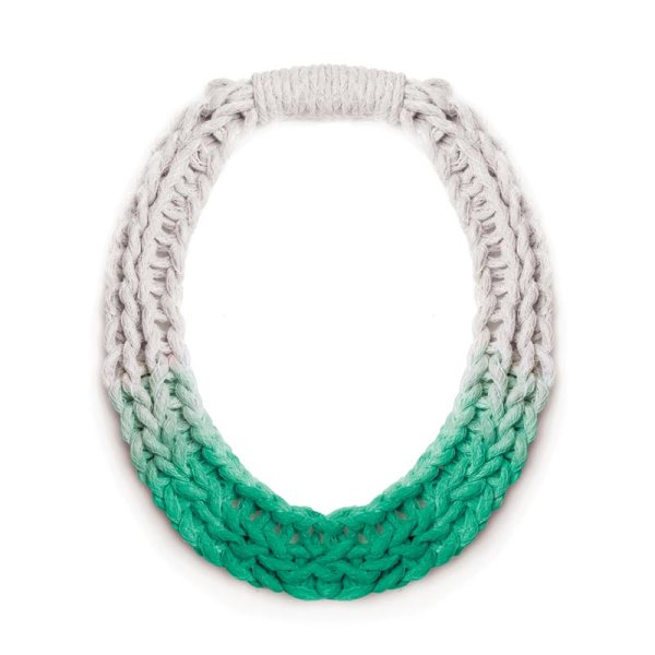 Chunky Jewellery Saloukee Purls Necklace Green