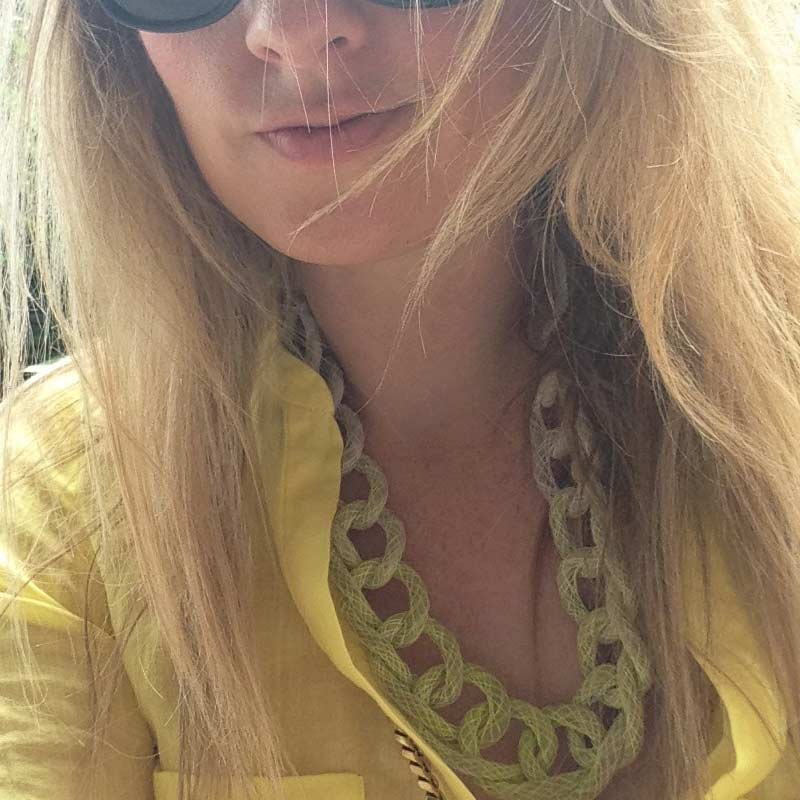 Jewellery Review Saloukee Yellow Necklace