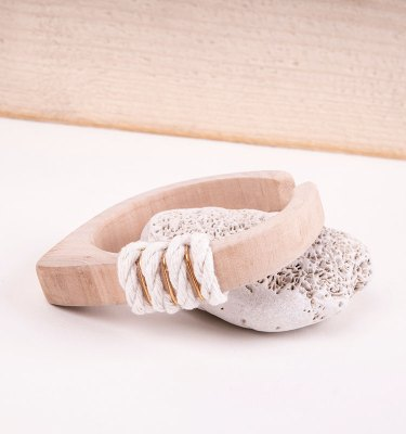 small wooden bangle beach
