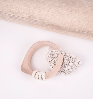 small wooden bangle handmade
