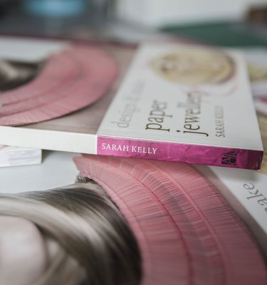 Handmade Jewellery UK Shop Book Spine By Sarah Kelly