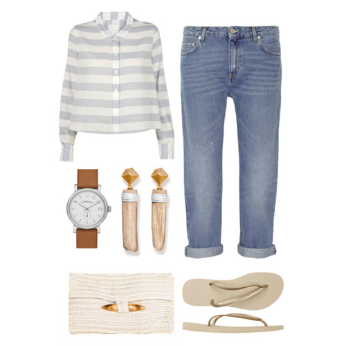Nautical Trends For Spring Wood Earrings Saloukee Jewellery
