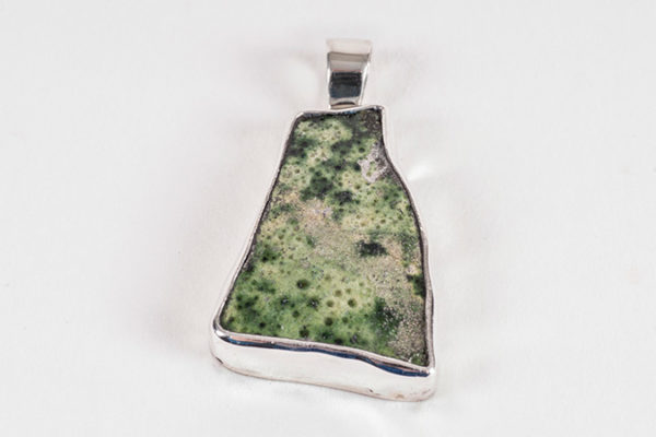 Pottery Jewellery Silver Necklace