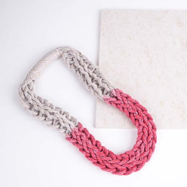 Red Woven Jewellery