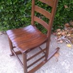 Wooden Childs Rocker