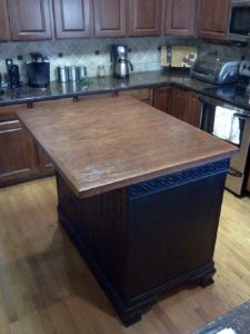 Stone, granite and marble counter-top