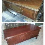 Cedar chest refinished