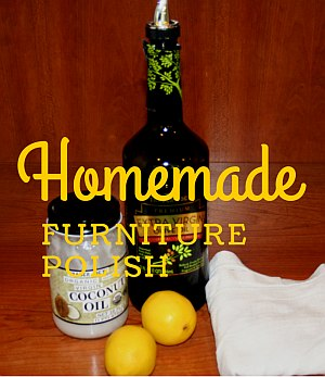 Ingredients for homemade furniture polish