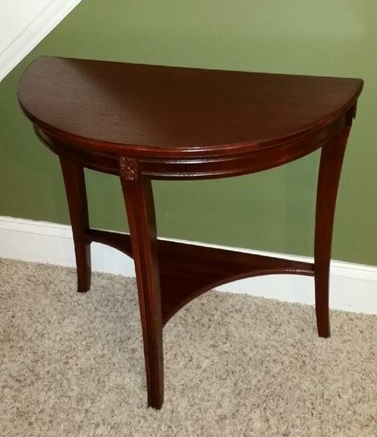 Side table restored