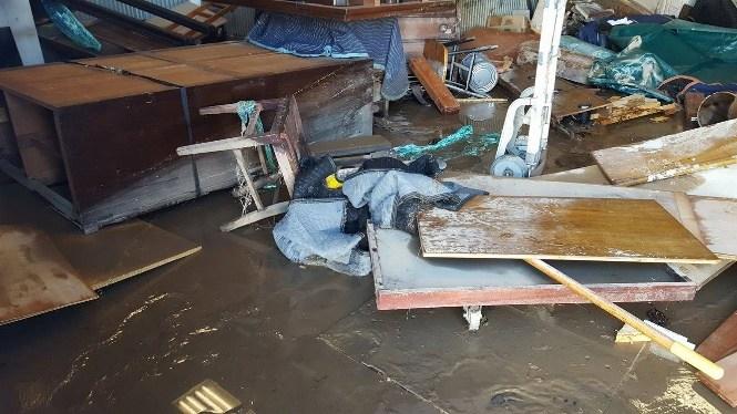 Salpeck Flood Damage