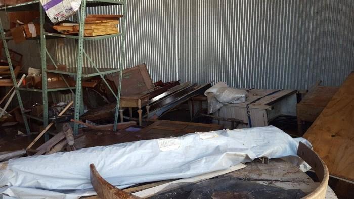Salpeck's Furniture Flood damage